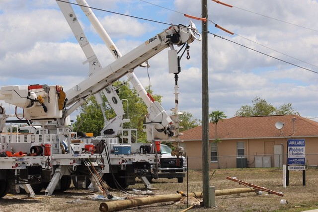 Utility worker has died from electrical accident